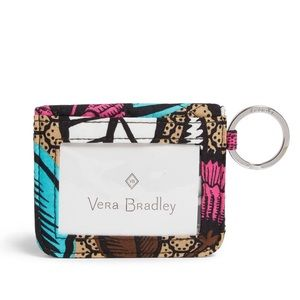 VERA BRADLEY CAMPUS DOUBLE ID HOLDER IN CANYON RD